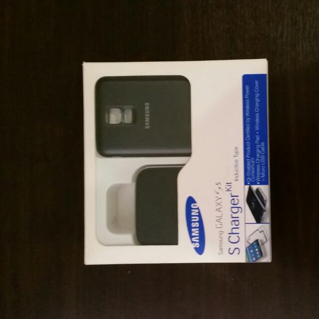 SAMSUNG GALAXY S5 WIRELESS CHARGER(BLACK)