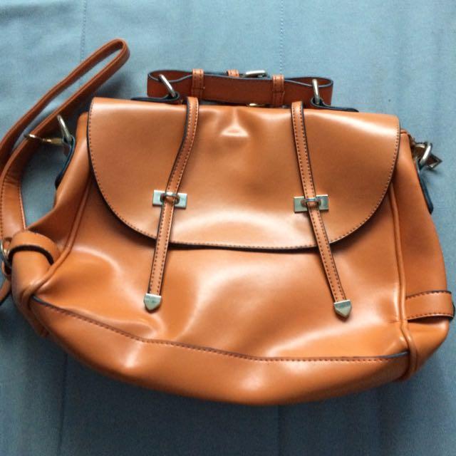 Free Satchel Bag (orange)
