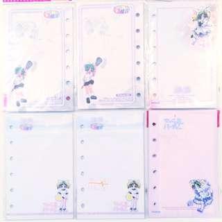 Di Gi Charat Binder Organiser Papers Japanese Manga Comic Anime ACG