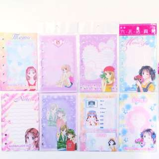 Yoshizumi Wataru 9 Types Binder Organiser Papers Japanese Manga Comic Anime ACG