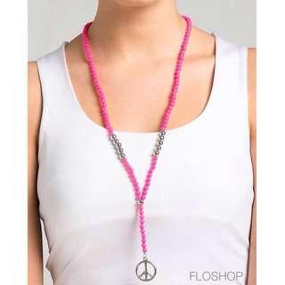 Khira Necklace (Pink)