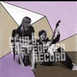 Audio CD: Club 8 - The People's Record