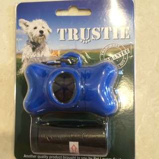Trustee Clean Up Bag Holder (blue)