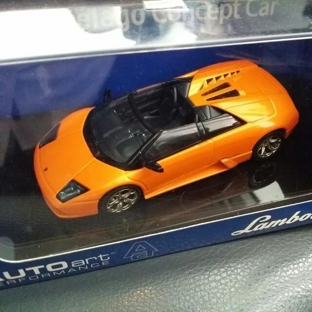 Autoart Diecast Lamborghini Murcielago Concept Car 1 43 Scale