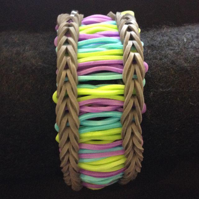 Barcode Rainbow Loom Bracelet