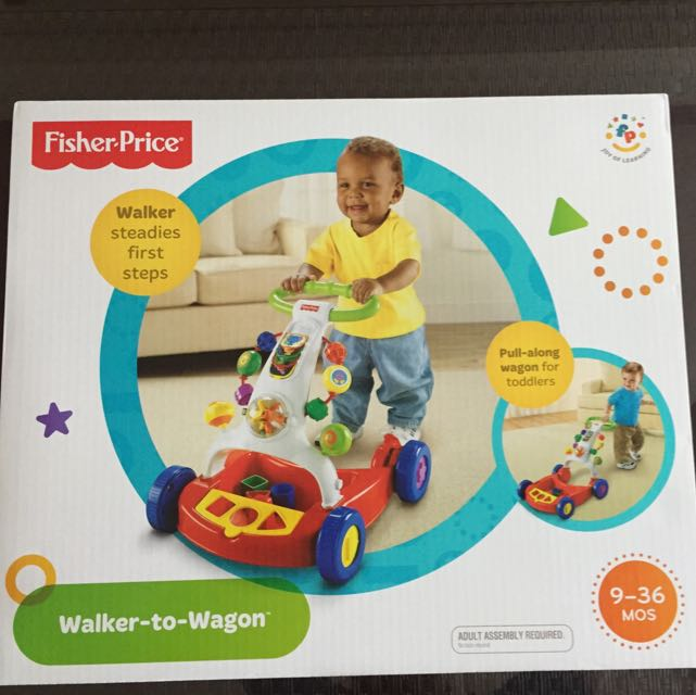 Fisher Price Walker To Wagon (Unused)