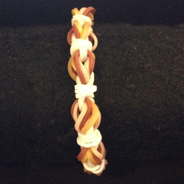 Hot Air Balloon Rainbow Loom Bracelet