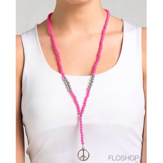 Khira Necklace (Pink)