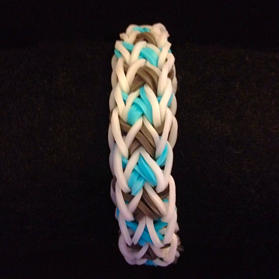 Leafix Rainbow Loomband Bracelet