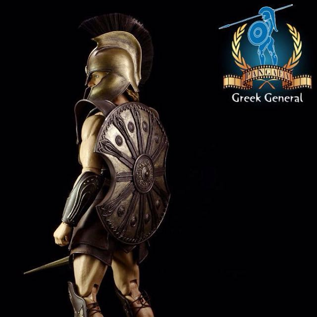 Pangea - PG01 - 1/6 Greek General Action Figure (Ship Q4 2014)