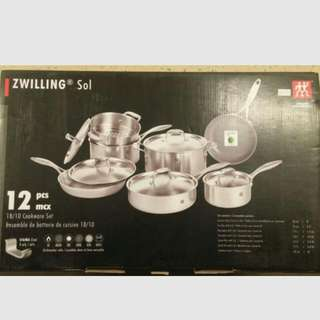 12 Pc. Zwilling Cookware