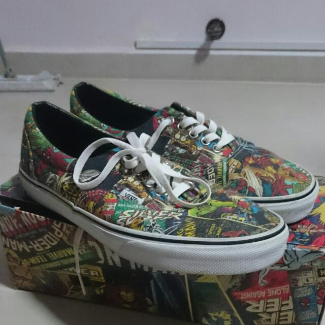 e50f5173741b57 limited Edition(marvel Silver Lining) Vans Shoes