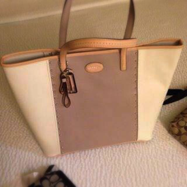 authentic coach Tote Bag