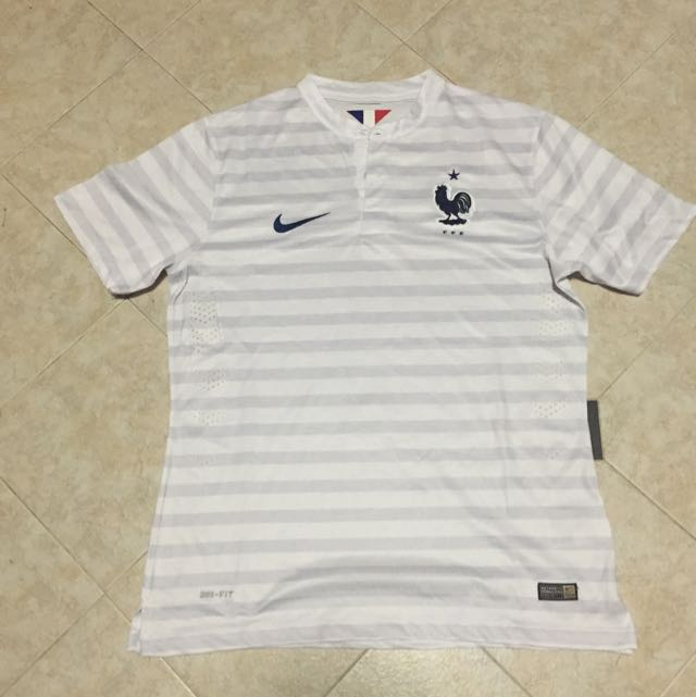 new product 46180 6c9a8 France World Cup Away Jersey 2014