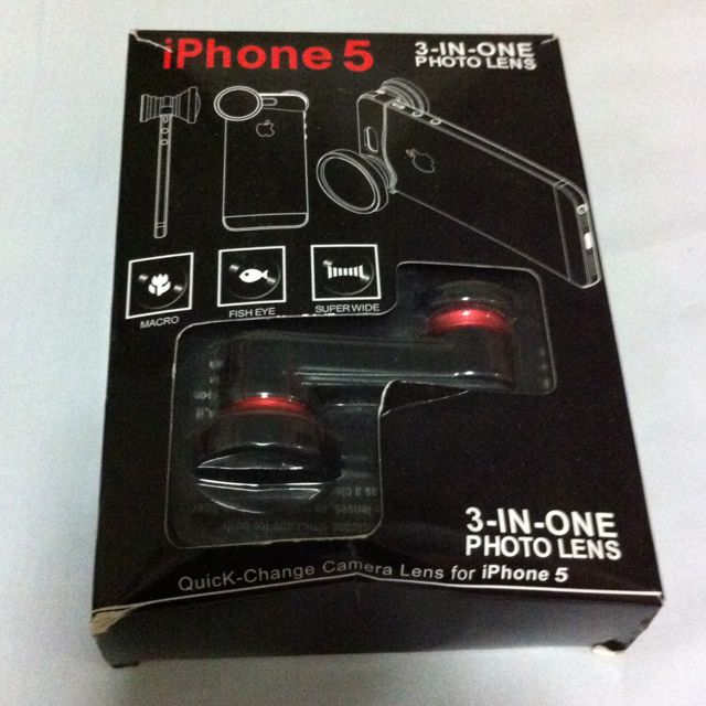 Iphone 5 Lens 3 In 1