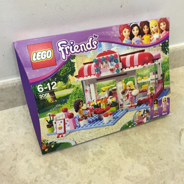Lego Friends City Park Cafe 3061 Toys Games On Carousell