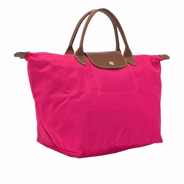 法國LONGCHAMP短把包包(M)糖粉色