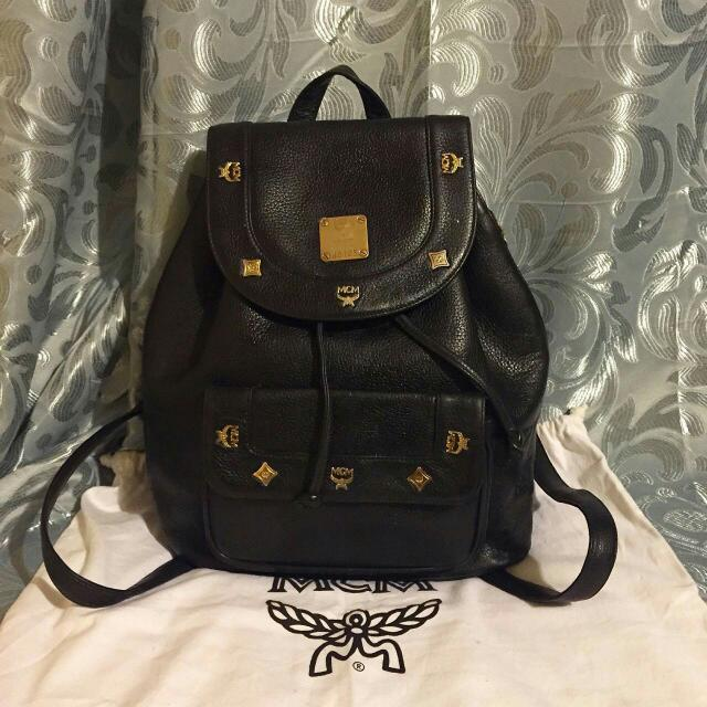 Mcm Backpack Preloved