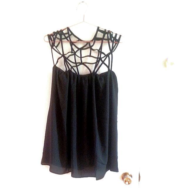 Stylish, Simple & Cute Mini Black dress