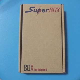Super Box iPhone 4 Casing