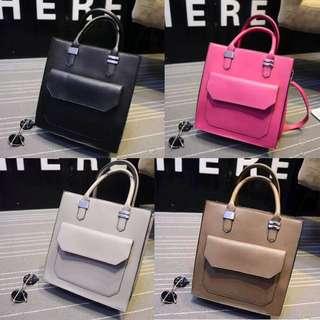 Jessica Sturdy Leather Bag