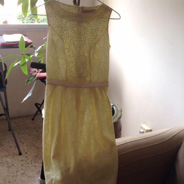 Dorothy Perkins Yellow Dress