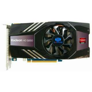 Graphics Card: SAPPHIRE HD 5850 Xtreme [Great for DOTA2]