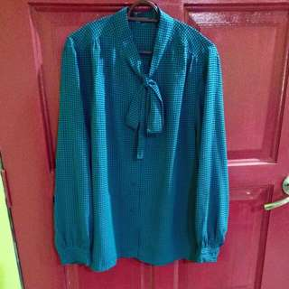 Turquoise Vintage Blouse