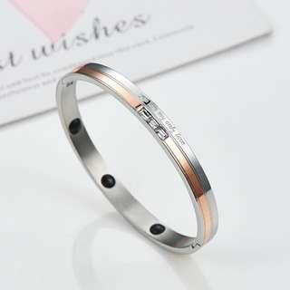Anti-radiation Anti-fatigue Elegant Negative Ion Health Bracelet With 3Pcs Swarovski Crystal