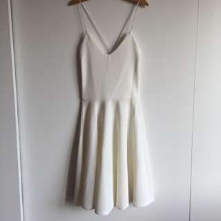 Kate Textured Fabric Strappy Skater Dress