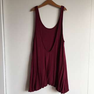 Urban Outfitters Bubble Tunic Tank Top