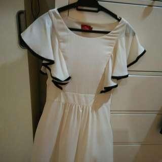 Preloved Elle Brand Beige Dress
