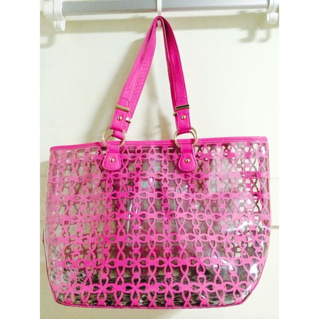 REDUCED New Look Pink CaryAll