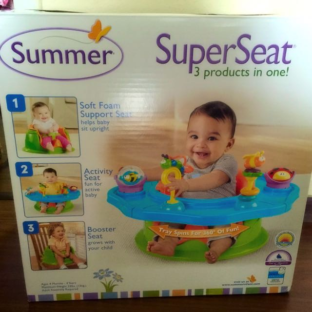 Summer Infant Super Seat, Babies & Kids on Carousell