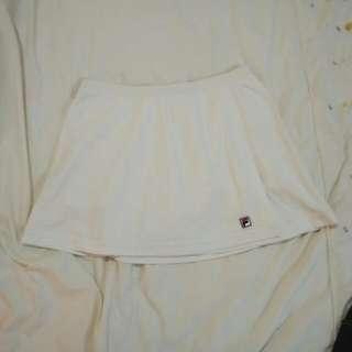(Reduced) White Fila Tennis Skirt Preloved