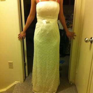 Off White, Lace Dress (100% New)