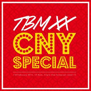 TMB FLEA (CHINESE NEW YEAR SPECIAL)
