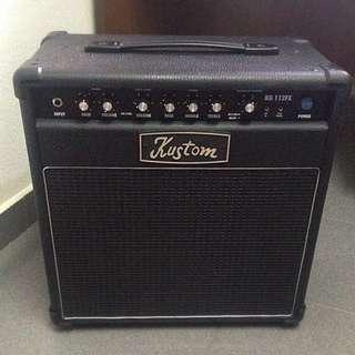 Guitar Amplifier Kustom KG112fx