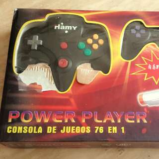PowerPlayer 76-in-1 Game Console