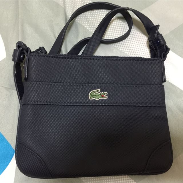 Authentic Lacoste Small Sling Bag