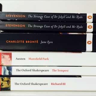 Classics (Oxford and Penguin)