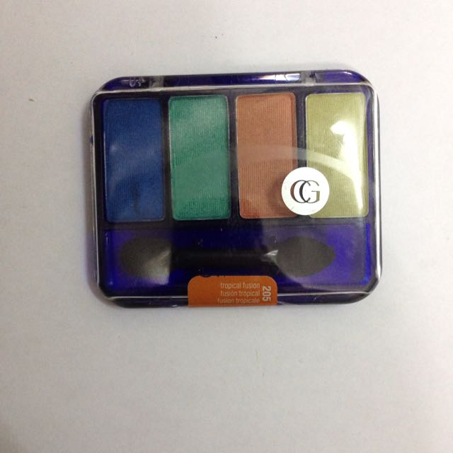 Cover Girl Eye Enhancers Eyeshadow Palette, 205 Tropical Fusion