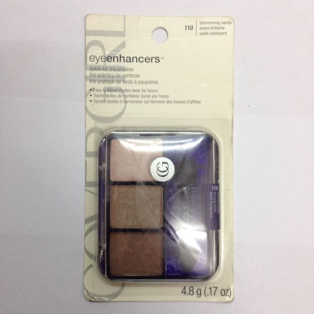 Cover Girl Eye Enhancers Eyeshadow Trio, 110 Shimmering Sands