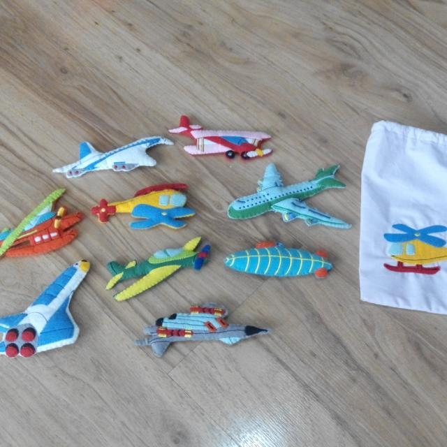 Felt Toys - Air Transport (Growing Fun)