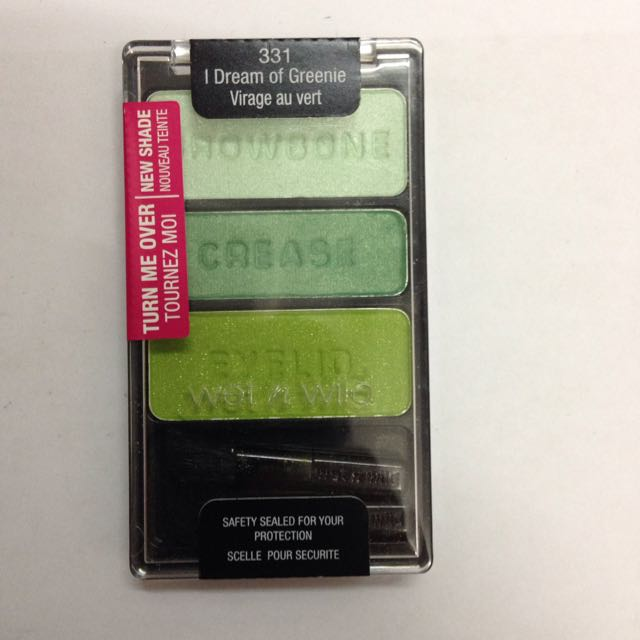 Wet N Wild Color Icon Eyeshadow Trio, 331 I Dream Of Greenie