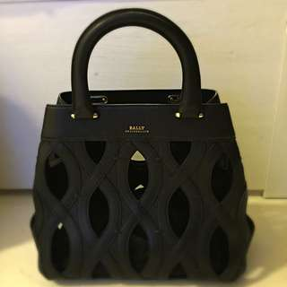 Bally Pixie Woven Bag (Black)