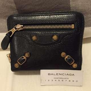 Balenciaga Classic Black Wallet