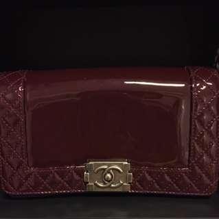 Chanel Reverse Boy Hand Bag