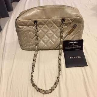 Chanel Champagne Handbag