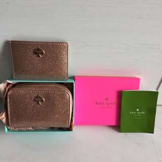 Kate Spade Zip Pouch With Card Holder